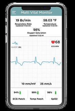 multi-vital mobile app
